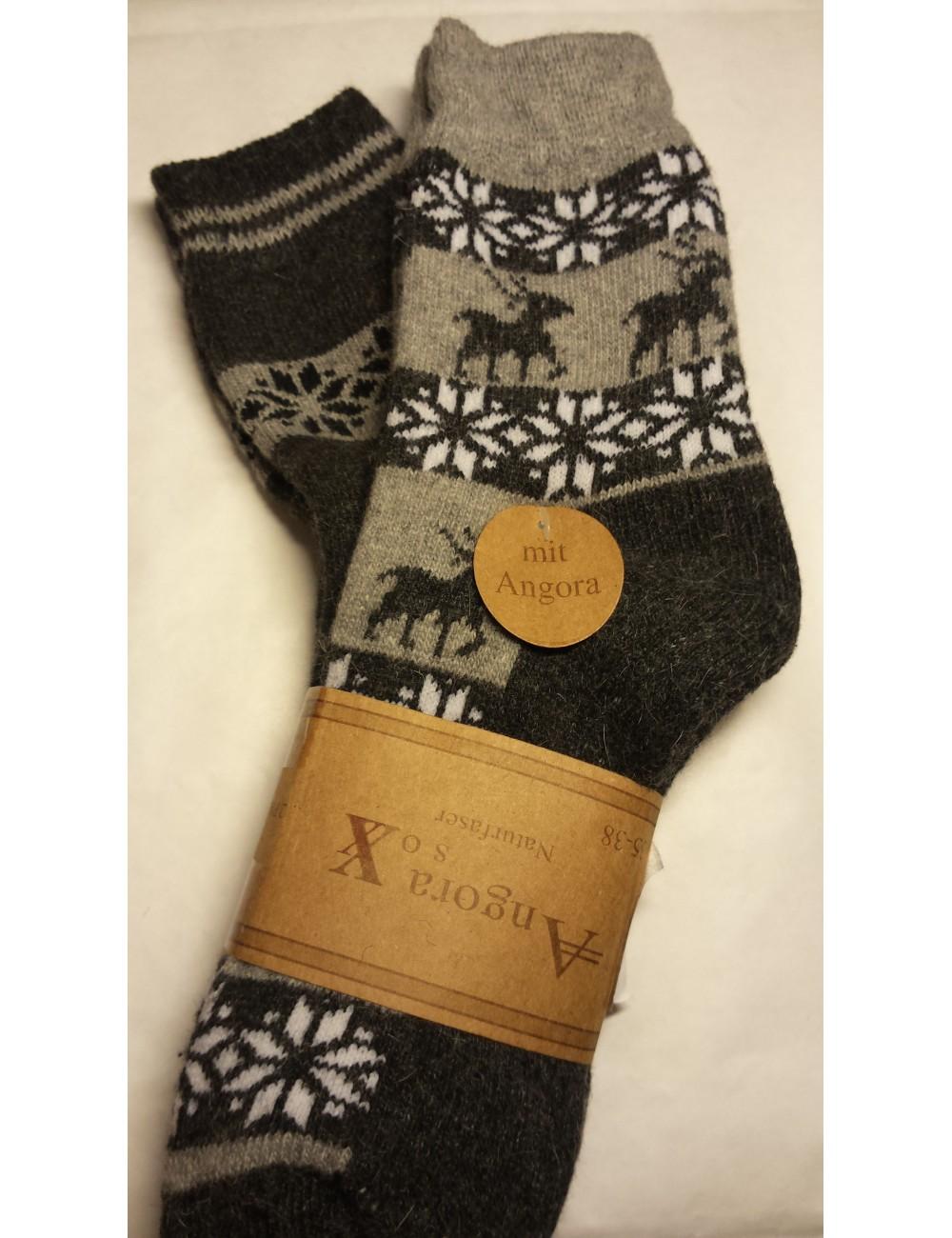 Šiltos kojinės WIK su vilna * 2 poros