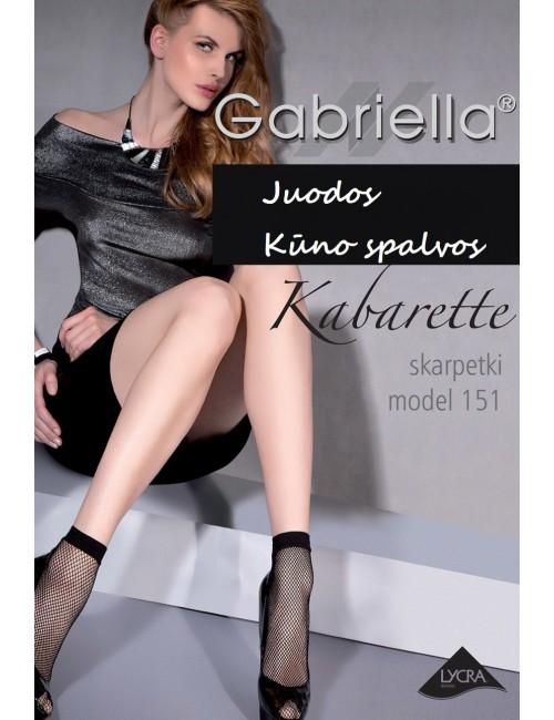Kojinaitės tinklinės GABRIELLA Kabarette