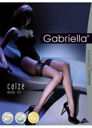 Kojinės tinklinės GABRIELLA Kabarette Calze
