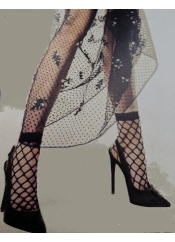 Nerealaus grožio tinklinės kojinaitės su sidabrine juostele!