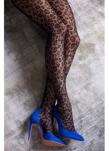 Pėdkelnės GABRIELLA Caty - leopardo raštu