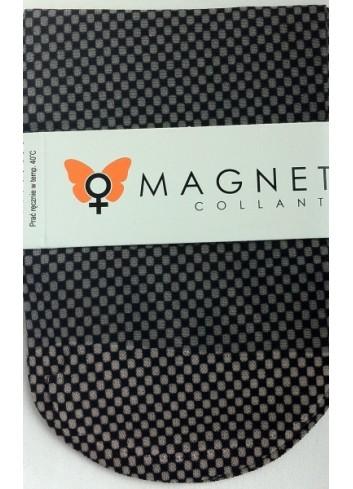 Kojinaitės MAGNETIS smulkiais tamsiai mėlynais kvadratėliais
