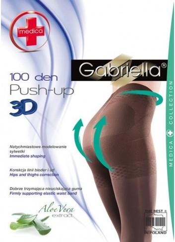 Pėdkelnės GABRIELLA Push-up 3D 100
