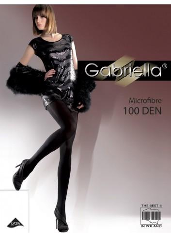 Pėdkelnės GABRIELLA 100 den Microfibra