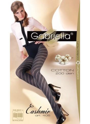 Šiltos pėdkelnės GABRIELLA Cotton 405