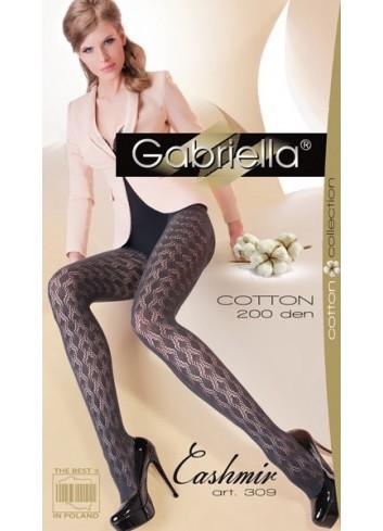 Šiltos pėdkelnės GABRIELLA Cotton 309